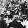 W Jazłowcu po koronacji figury Matki Bożej - 1939.